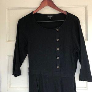 Black Cotton jumpsuit